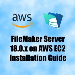FMS 18.0.x on AWS EC2 Guide